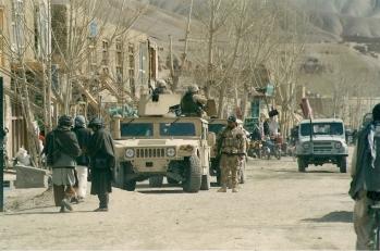 Afghan - QRF ptl Bamyan